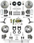 Disk Brake Kit, Right Stuff, 1964-72 A-Body, Front & Rear Manual Brakes OE M/C