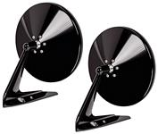 """Mirrors, Outside, 1936-88 GM 5"""" Round, Convex Glass, w/o Fasteners, Pair"""