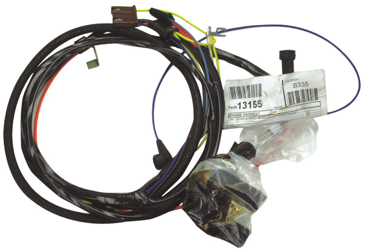 Wiring Harness, Engine, 1964 Chevelle/El Camino, 6 Cyl/Warning Lights