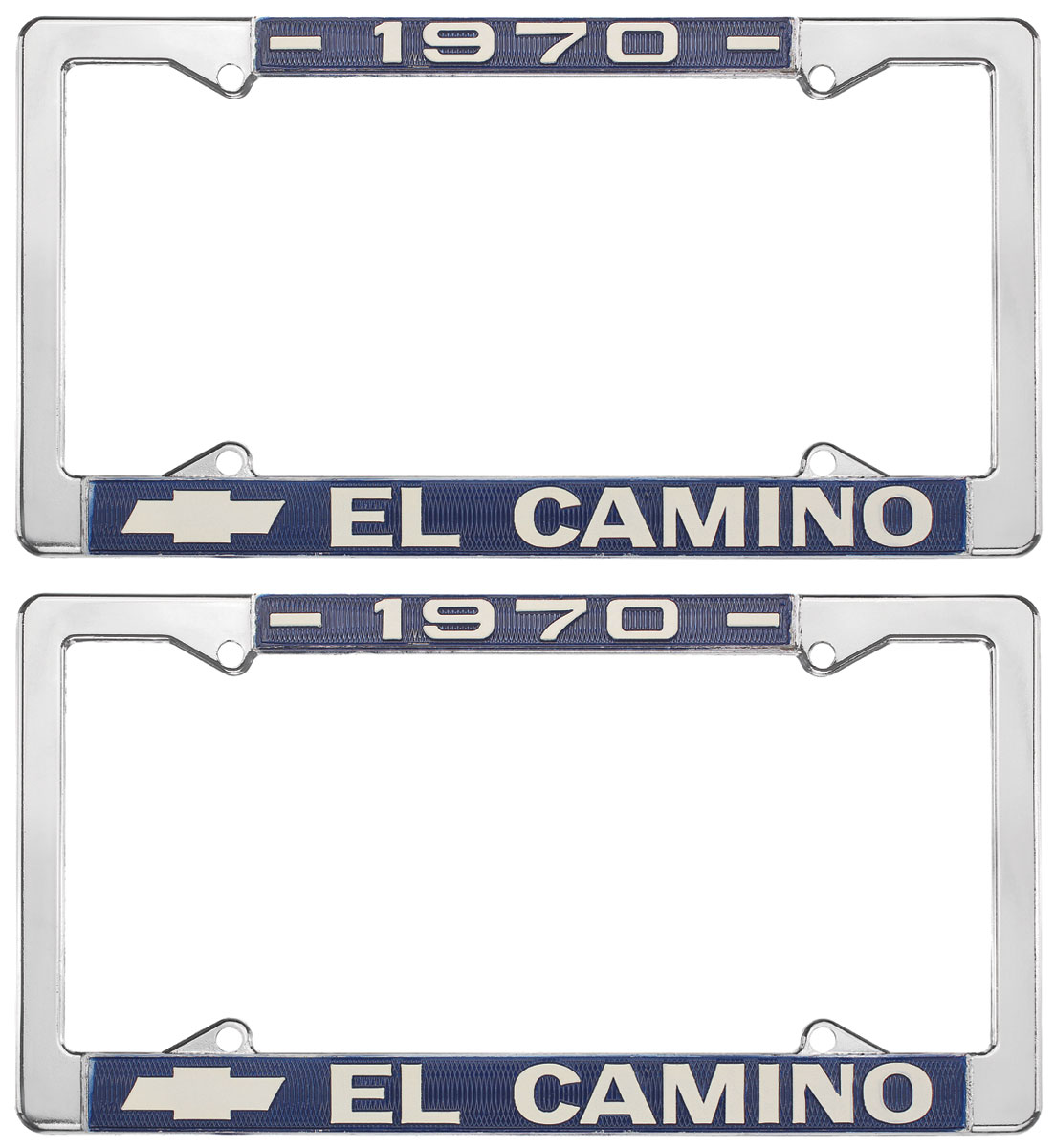 License Plate Frame, 1970 El Camino