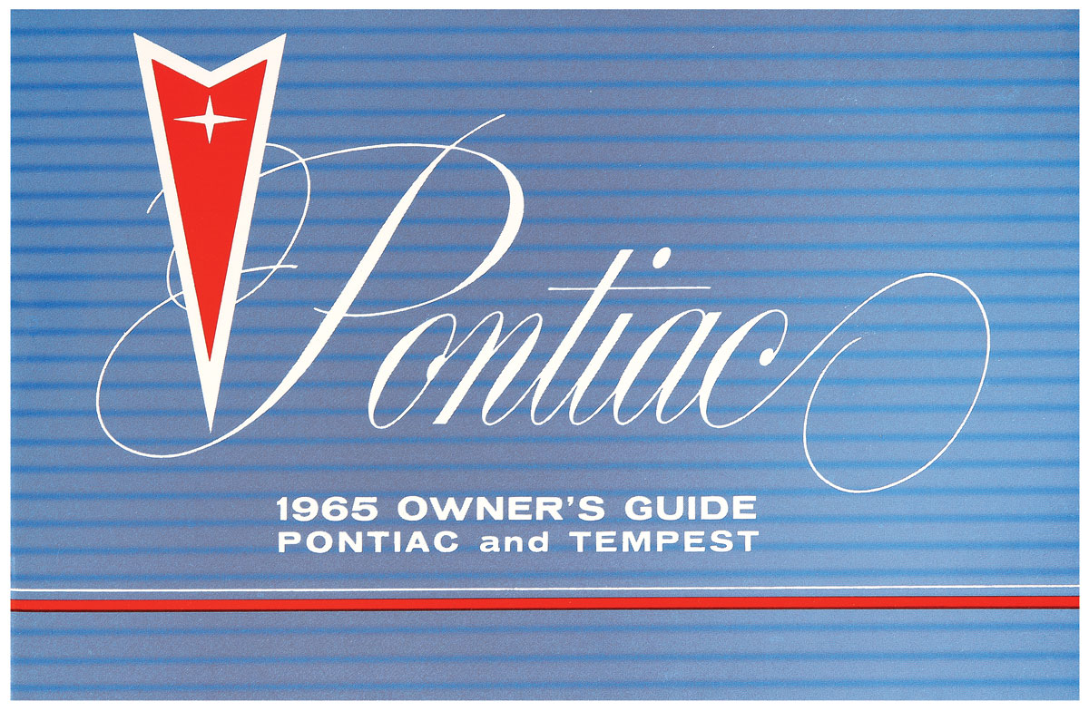 Owners Manual, 1965 Pontiac