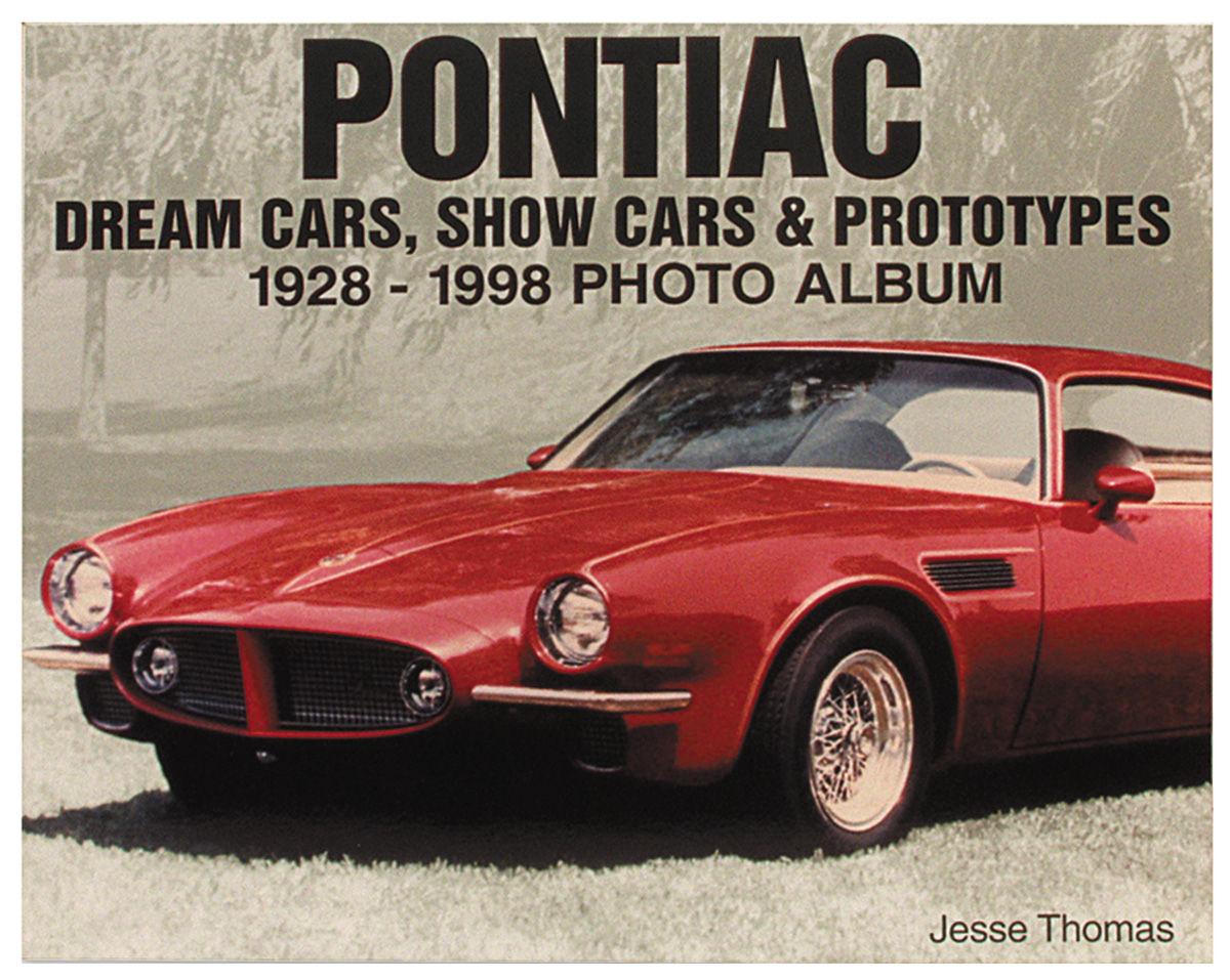 Book, Pontiac Dream Cars, Show Cars & Prototypes