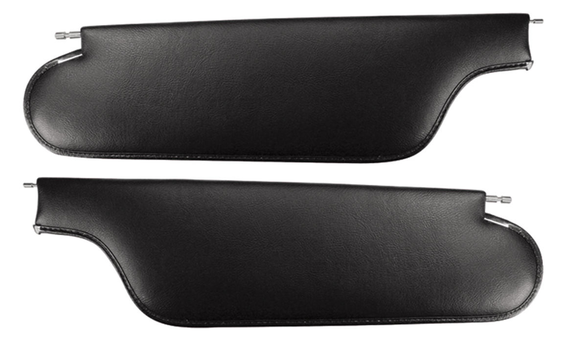 Sun Visors, Perforated, 1965 GTO/LeMans 2-Dr. Coupe/4-Dr. Hardtop, 2-Pin