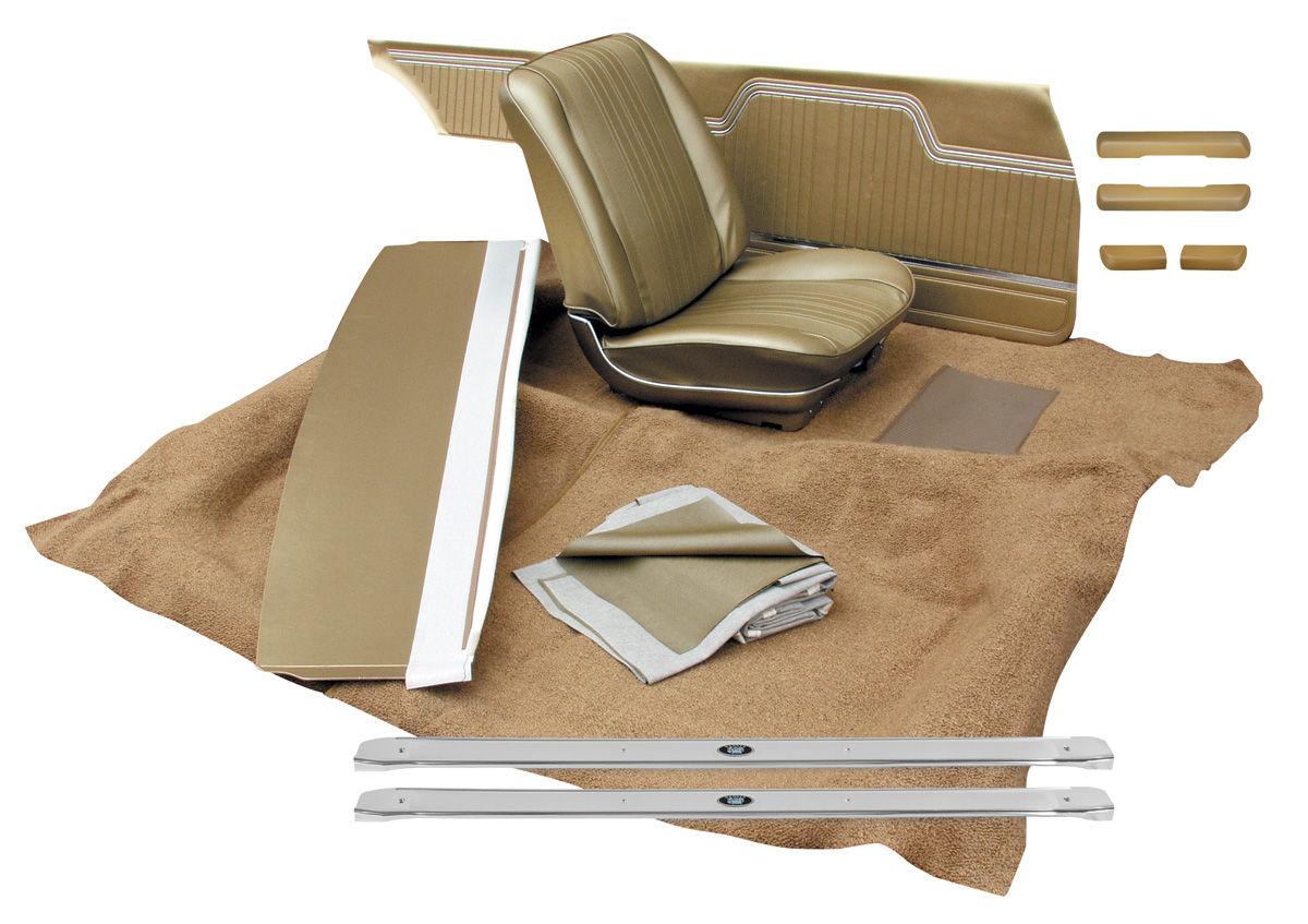 Interior Kit, 1964 Chevelle Stage II, Split Bench, Convertible