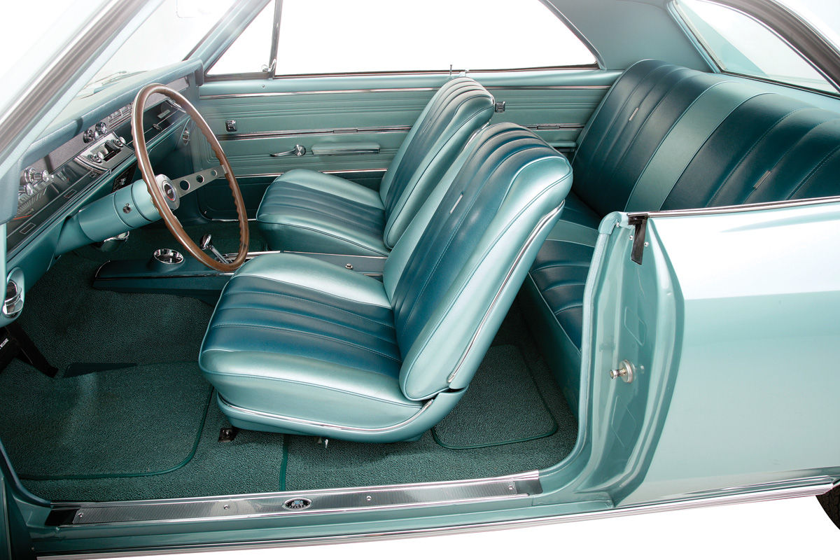 Interior Kit, 1964 Chevelle Stage III, Buckets, Coupe