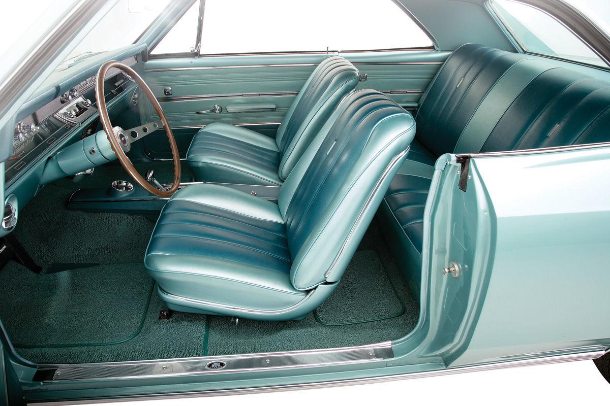 1966 1967 Buick Skylark /& Olds Cutlass Coupe Rear Armrest Cover Pair