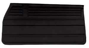 Door Panels, 1968 Chevelle, Coupe, Convertible/El Camino Front, Leatherette