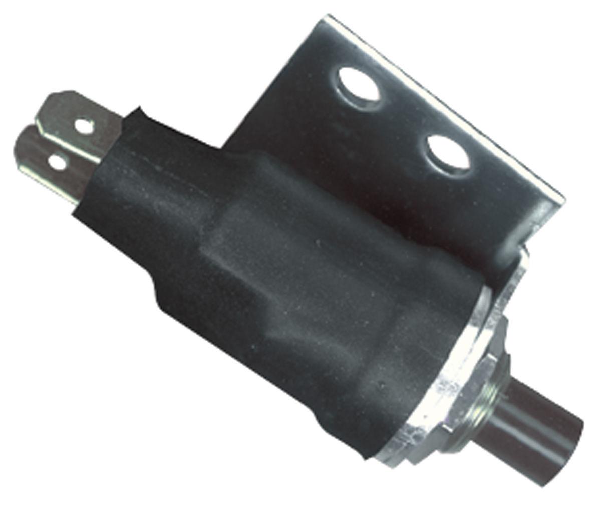 AC Compressor Switch,1966-67 Chevelle/El Camino, Button on Case, 2-Wire