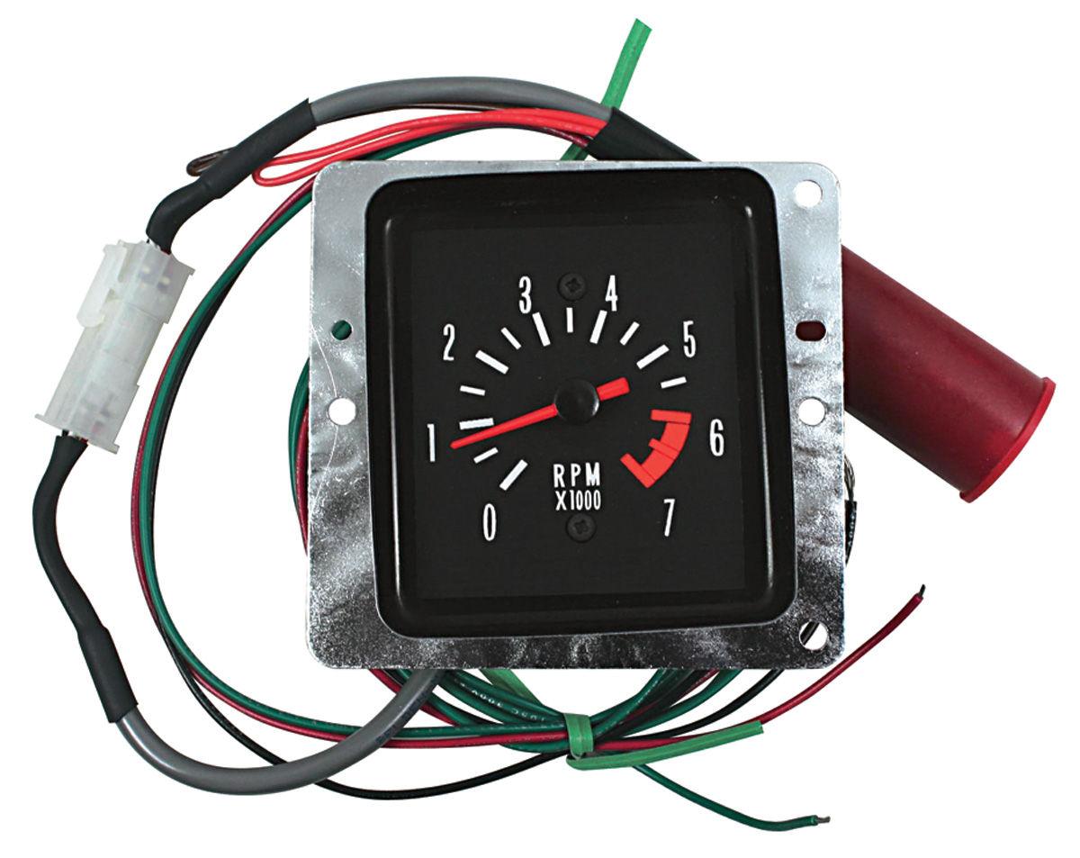 Conversion Kit, Tachometer, 1971-72 Malibu, In Dash
