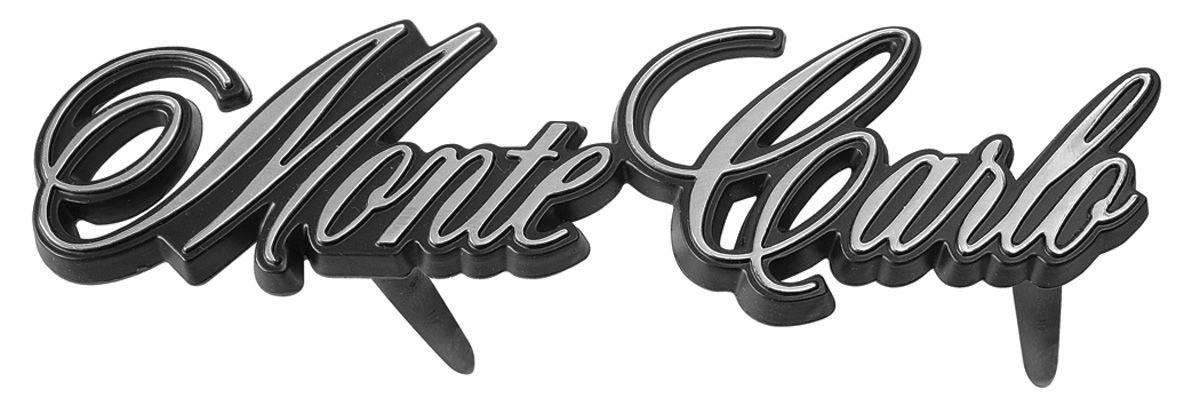 Emblem, Grille, 1980 & 1982 Monte Carlo