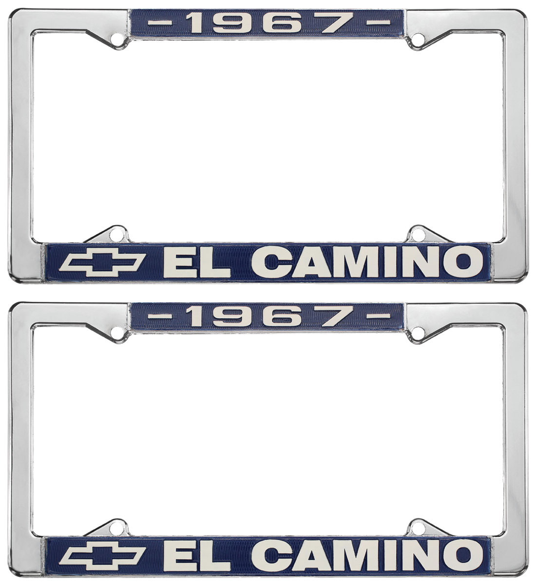 License Plate Frame, 1967 El Camino