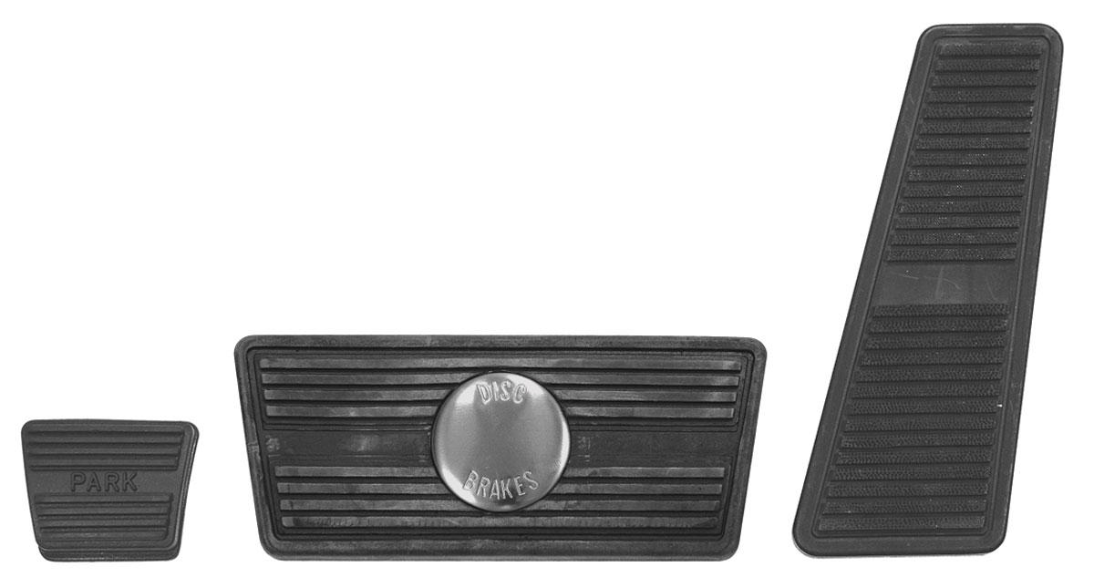 Pad, KIT, Pedal, 1968-72 Cutlass/Skylark, Auto. Trans., Disc