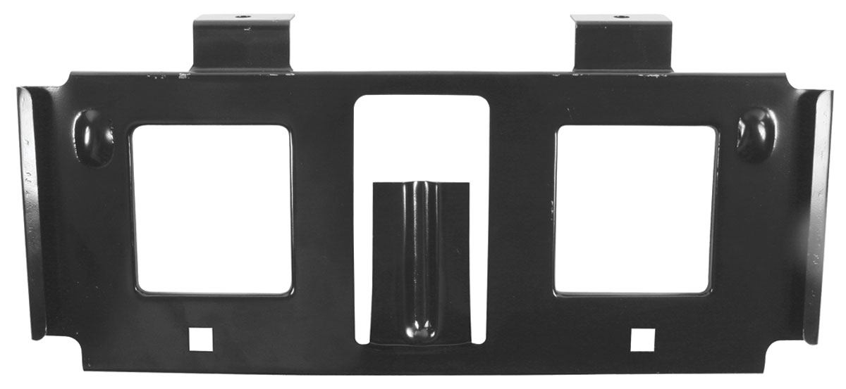 Bracket, Front License Plate, 1971-72 GTO, w/ Endura Bumper
