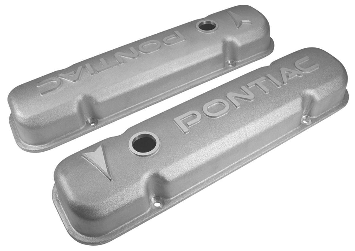 Valve Covers, Aluminum, GM, Pontiac