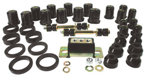 Bushing Kit, Polyurethane, 1967-72 GTO, w/ Round Front Lower Control Arm