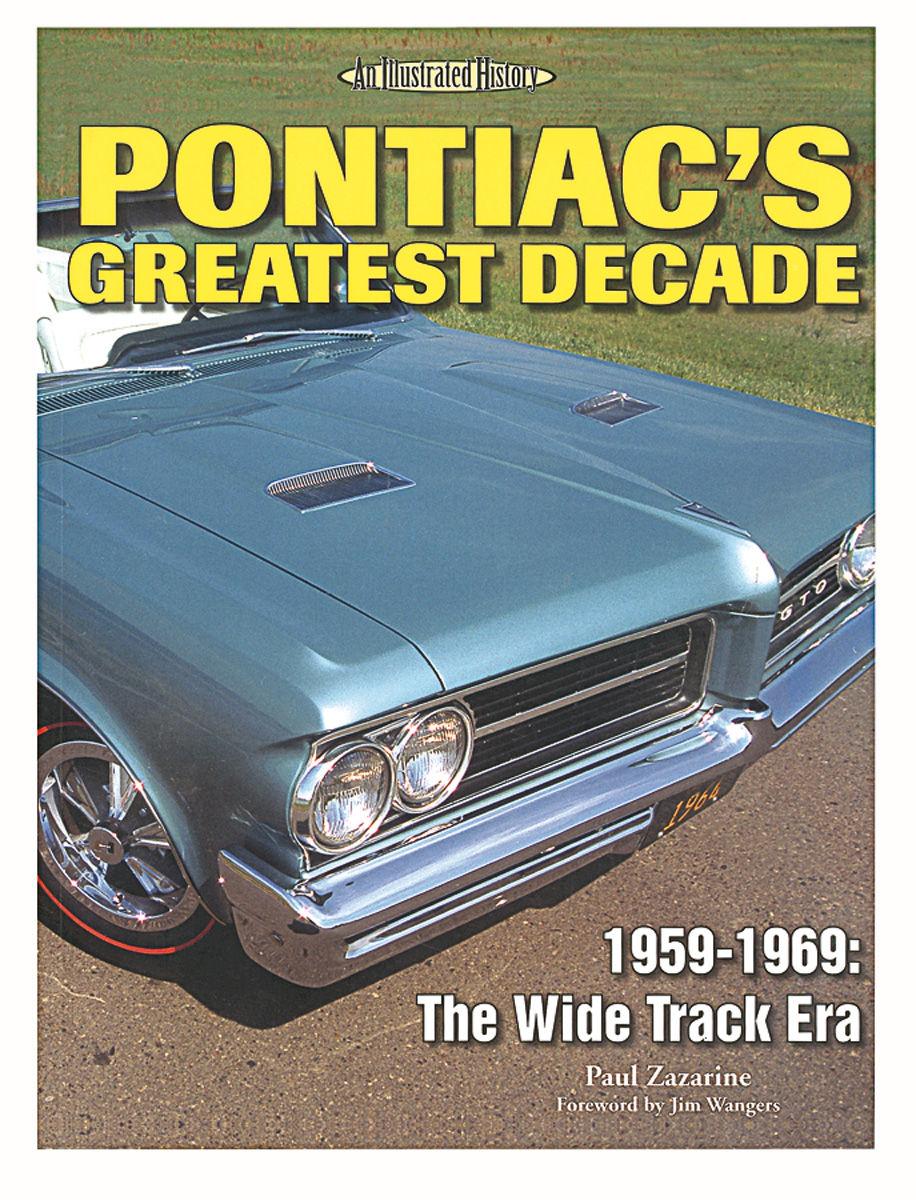 Book, Pontiac's Greatest Decade