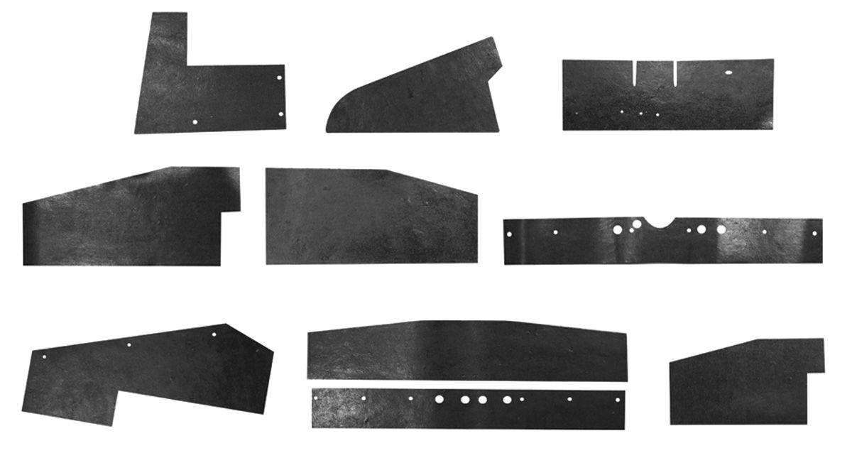 Seal Kit, AC Rubber, 1964-67 GTO/LeMans/Tempest
