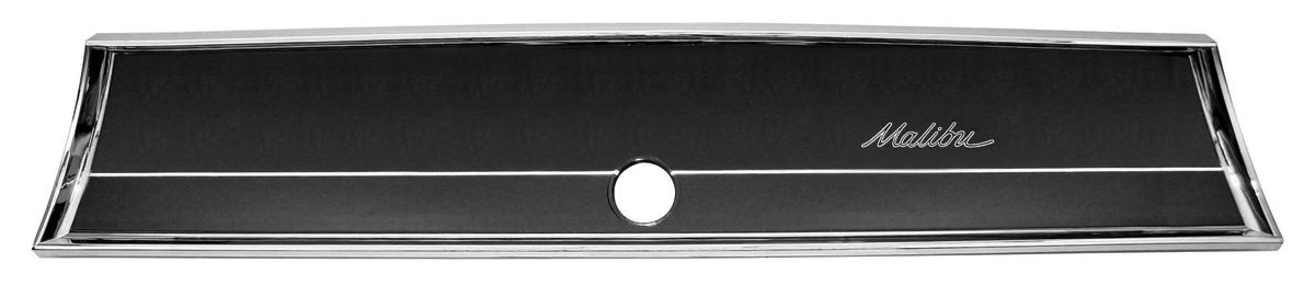 Glove Box Fascia, 1966 Malibu/El Camino, Chrome