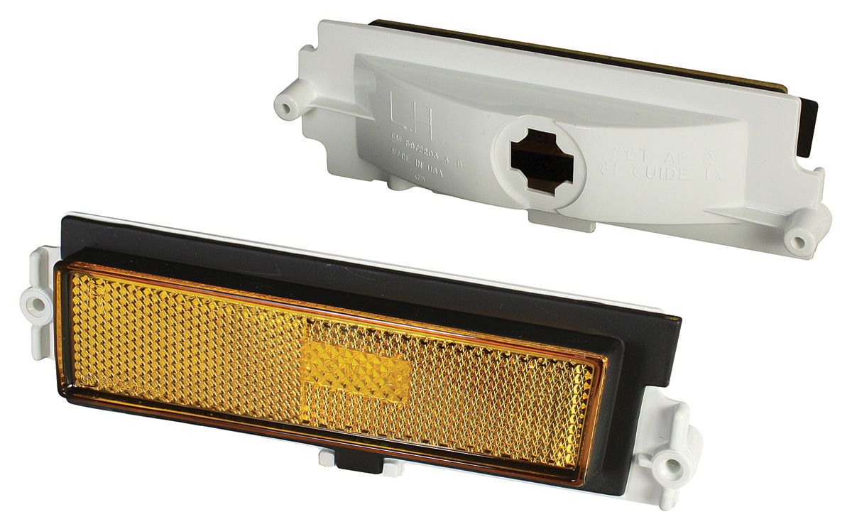 Side Marker, Lights, Front, 1981-88 Monte Carlo, Pair