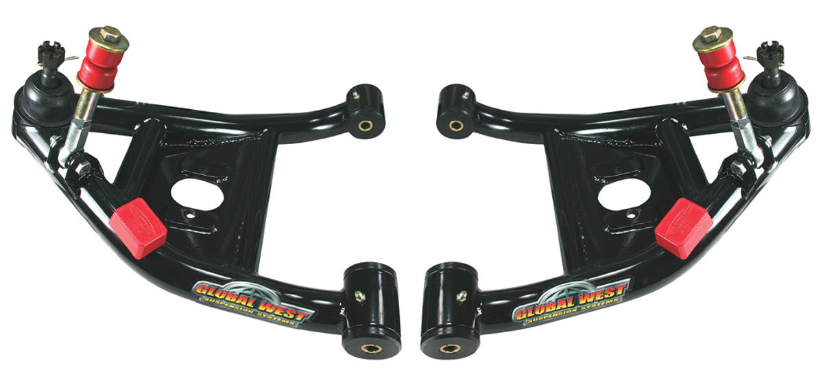 Control Arms, Front Lower, 1978-88 G-Body, w/ Coil Overs, w/ Poly Bushings